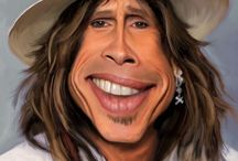 Caricatures / Celebrities , their looks deviously exploited. LIMIT 10 PINS DAILY ! / by 🐾 KRYSTYNA 🐾