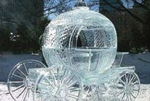 Snow and Ice sculpture / Spectacular sculptures from ice. / by 🐾 KRYSTYNA 🐾