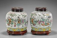 Ginger Jars / From antique cloisonné to unique ceramics from the Orient and quality reproductions...beautiful lidded jars. LIMIT 10 PINS DAILY ! / by 🐾 KRYSTYNA 🐾
