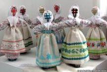 Folk Dolls Мотанки / by Olga Pokotilo