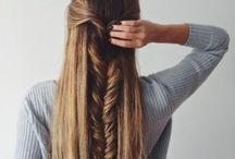 Stylish hair