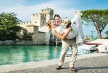 Wedding at the Garda lake /  wedding photographer at the Garda lake, fotografo matrimonio a Sirmione, свадебный фотограф в Италии