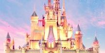 Disney World / Was brought up by Disney, always believe in magic and miracles.