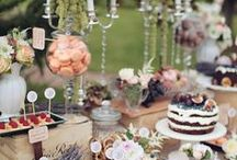 Cake table inspiration / For the best decorated cake table