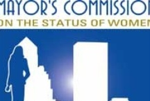 Mayor's Commission on the Status of Women / The posters from the Mayor's Commission on the Status of Women honor several women in the city of Jacksonville each year. The Commission donated the posters to the Thomas G. Carpenter Library of the University of North Florida, where they are displayed on the third floor.