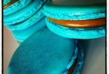 mmm...Macarons / Macarrones de vivos colores y variados rellenos (infaltable, el relleno de dulce de leche).
