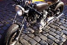 Ditismotor / Motorbike Motor Caferacer XV750 Virago