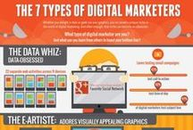 Infographic Big Theme / Infographics about Business, Social Media, Webdesign, HTML5, Graphicdesign, Design,  Mobile...