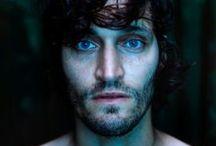 those amazing blue and green eyes...❀