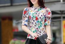 YRB Fashion Blouses and Shirts / The Korean blouses that YRB fashion has collected for you are very modern, fashionable and are fit for any occasion. You can try them on in our YRB shop or you can buy them on our website and get a free shipping worldwide.