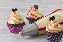 Cupcakes - reseptejä ja ideoita / Cupcake-reseptejä ja koristeluvinkkejä meiltä ja Pinterestistä.