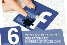 Facebook Marketing Tips / This Facebook Tips board is dedicated to providing quality articles, resources, infographics and tips about Facebook / Artículos e infografías con consejos y sugerencias acerca de Facebook.