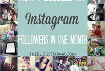 Blogging / Blogging tips, instagram, social media, pinterest, SEO