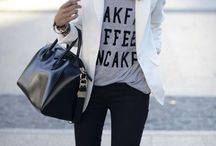 Fashion / Casual and comfortable outfits that are still flattering.
