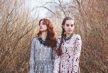 Winter Goodbye Ava LookBook Spring '14 / avacoats avadresses avaskirts