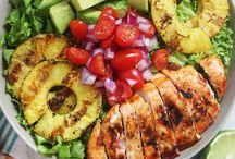 Seasonal Salads / Colourful and delicious salads