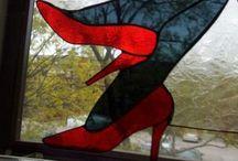 Glas Tiffany ja Lasitöitäni / GLAS TIFFANY lasitöitäni