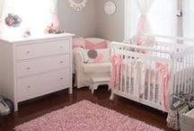 Baby Nursery Ideas / http://www.inspiredhomeideas.com/adorable-baby-nursery-bedroom-design-ideas/