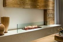 Fireplaces in the Home / Fireplaces wherever they may be, the living room, the bedroom, outdoors, or even in the dining area are a great thing in any home