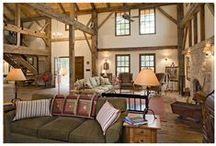 Rustic Barns & Homes / Beautiful barn conversions and interiors