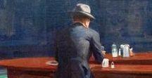Art | Edward Hopper / Norte-americano que retratar a solidão