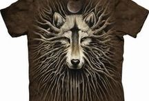 ♥ Wonderful t-shirts with wolves ♥ / Beatiful, funny and cool t-shirts from all over the world. Lots of cute, funny, adorable and colorful designs