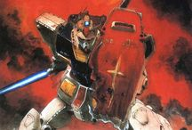 Gundam - illustrations