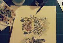 Art, Paint & Design / Dibujos, ilustraciones,