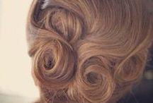 VINTAGE HAIR ROLLS