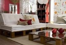Balcony ideas / pallet furniture