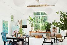 Studio Inspiration / Beautiful spaces to inspire beautiful artwork.