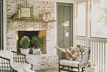 Porches / A favored place to relax and unwind.