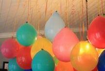 FIESTAS/CEREMONIAS / ideas para fiestas o casa