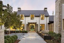Elegant Exterior / My favorite styles are French Country, Modern and European.