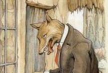 sprookjeswolf / #wolf # boze wolf #big bad wolf #Roodkapje #Peter en de Wolf #De wolf en de 7 geitjes #Little Red Riding Hood #La petite chaperon rouge #Caperucita #Capucetto rosso / by Hayet de Bont