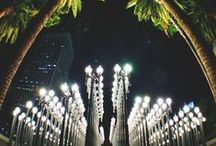 Los Angeles, California / Chartered flights and lifestyle of LA