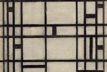 Piet Mondriaan / painting / by Hayet de Bont