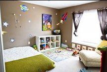 Chambres Montessori / Inspiration chambre enfants Montessori