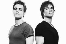 Paul Wesley/Stephan Salvatore - Ian Somerholder/Damon Salvatore / Those hot brothers from The Vampire Diaries / by ✨ Thranduil ✨ Laufeyson ✨