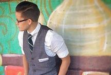 Tomboy/Butch Style / Love a handsomely dressed butch
