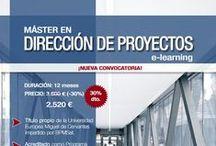 ProjectManagement Formación Online / La más amplia oferta formativa en Dirección y Gestión de Proyectos