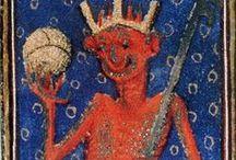 duivel / devil, diable, diablo, diavolo, satan, Teufel / by Hayet de Bont