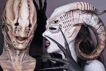 Fx Creatures / Prótesis y maquillaje. #caracterización #maquillaje #makeup #prótesis #prosthtics #máscaras #mask