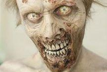 Fx. Zombie / Prosthetics. Makeup. Tutorial.