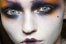 Makeup. Runway / makeup runway maquillaje pasarela backstage