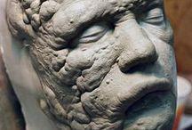 Fx. Prosthetics Sculpture / Prosthetics. Moulding. FX. Sculpture. Esultura. Modelado. Moldes.