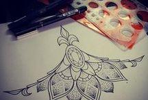 Tattoo illustrations / art concep