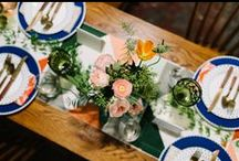 Sketchbook Project Inspiration- Featured on Green Wedding Shoes / Photography: Lindsay Hackney Photography / Venue: The Brooklyn Art Library / Flowers: Gardenia Organic / Stationery: Park Slope Press / Cake: BCakeNY / Rentals: Octavia & Brown / Planning & Design: Lindsey M. Events