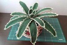 Realistic crochet flowers / Реалистичные цветы вязаные крючком.