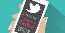 Twitter Tips / Twitter tips to grow your Twitter following and drive traffic to your business or blog.
